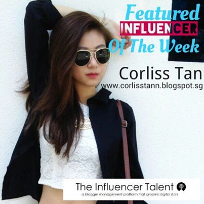 Featured #Influencer Of The Week-Corliss Tan