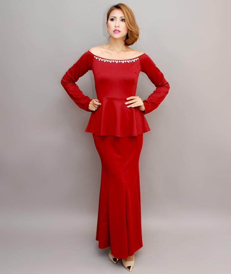 off-shoulder-beaded-peplum-gown