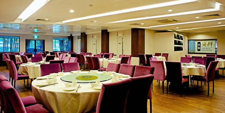 Joyden Seafood Restaurant - Main Dining Room for 160paxs