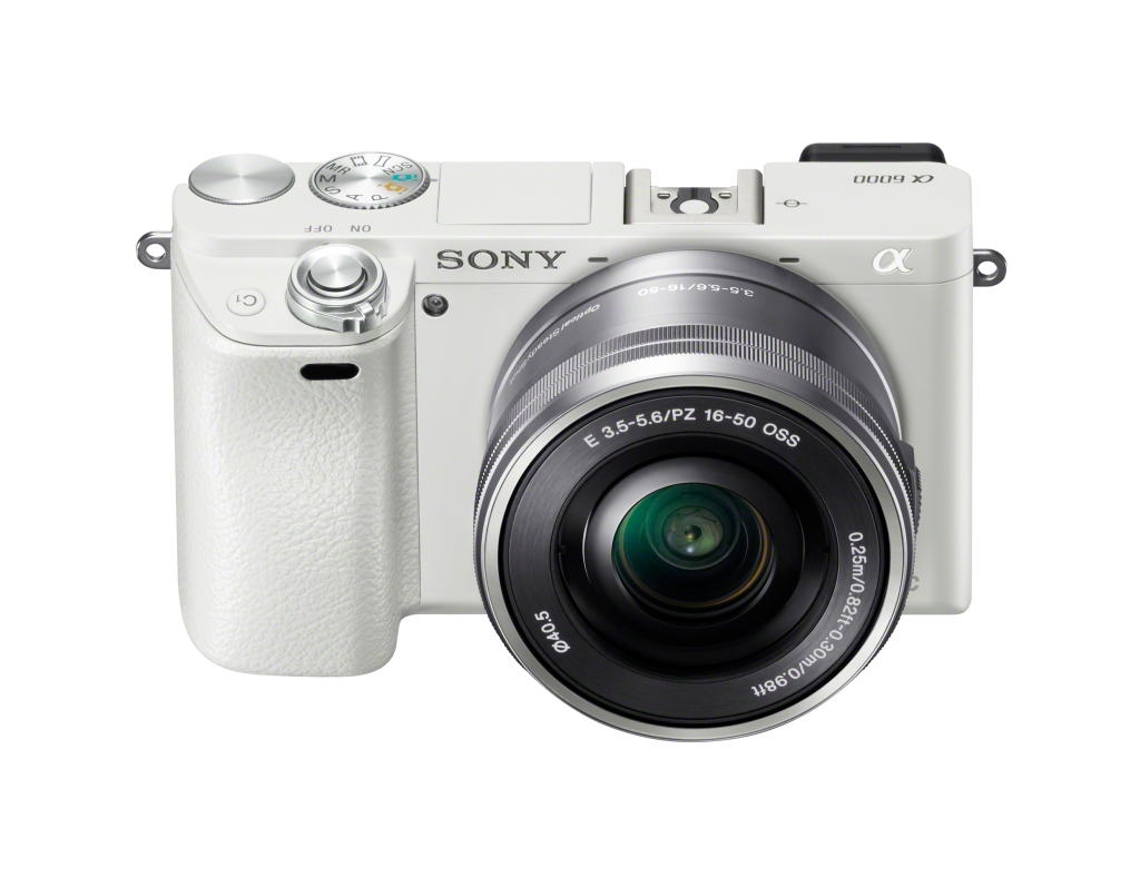 Alpha A6000 White with SELP1650 kit lens (1)