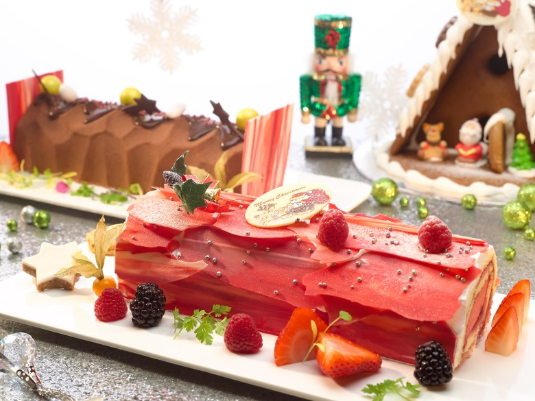 HISA Christmas 2014_American Cheesecake and Red Forest Logcakes  (1)