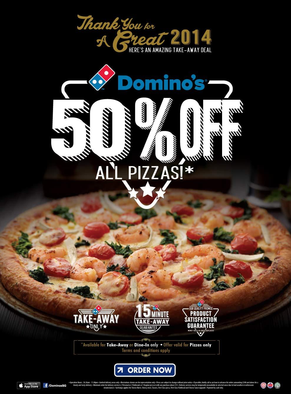 Order resume online 50 off dominos