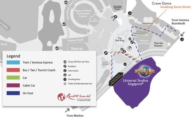 Layout Plan of Push Carts