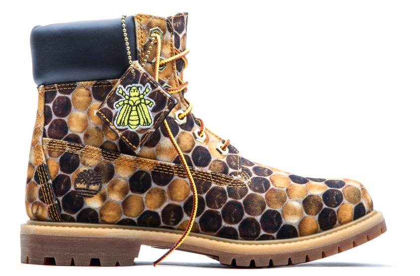 Timberland Limited Edition Bee Line Women's Canvas Boots 2