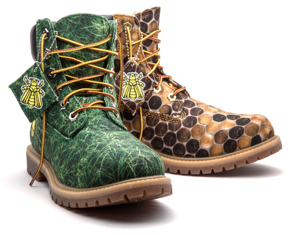 Timberland Limited Edition Bee Line Women's Canvas Boots 4