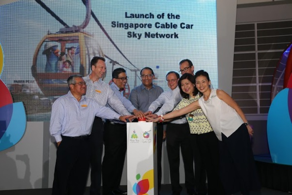 Singapore Cable Car Sky Network Launch (2)