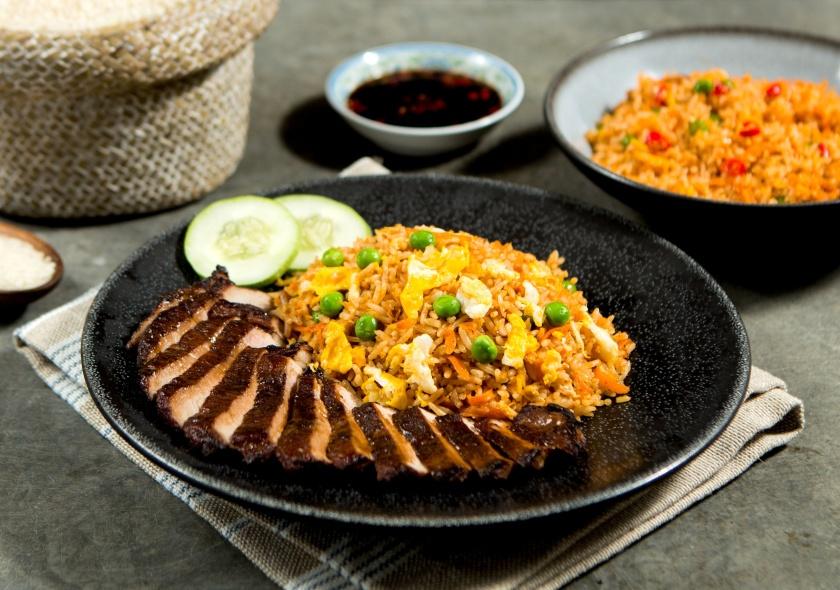 Pork Chop Sambal Fried Rice