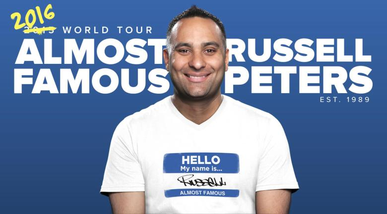 Russell Peters 2016 Banner