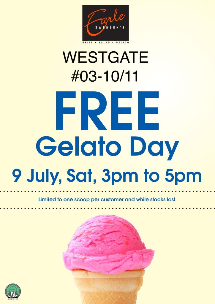 Earle Swensens Westgate FREE Gelato Day