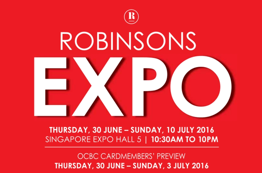 Robinsons EXPO Fair 2016 Campaign Image