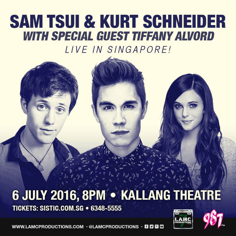 YouTube star TIFFANY ALVORD added as Special Guest to SAM