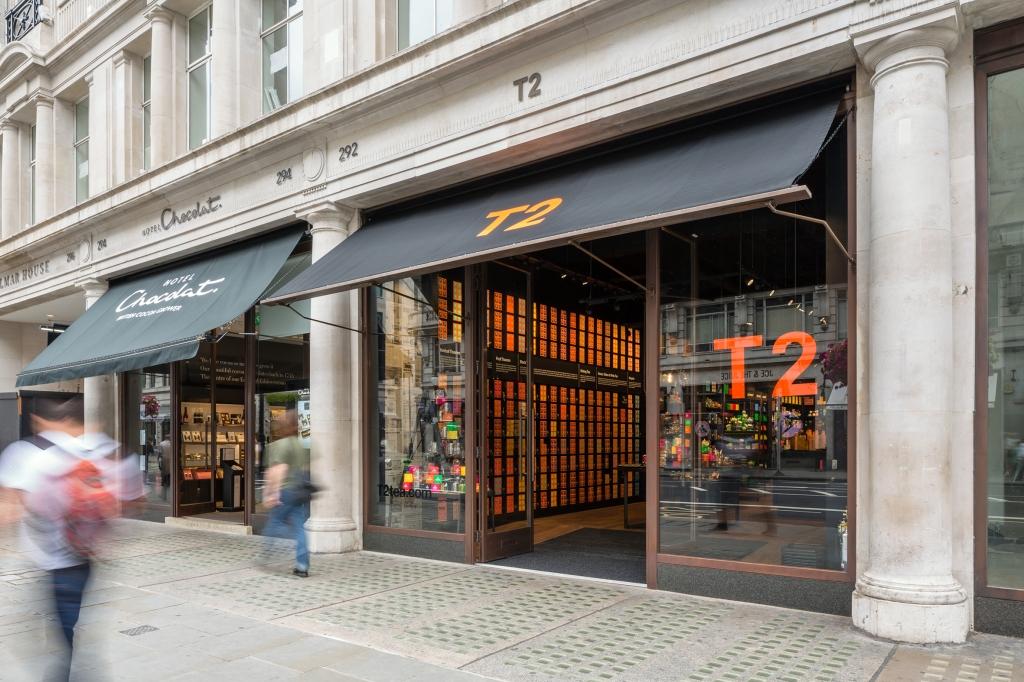 T2, Regent St, London.